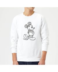 BoohooMAN Disney Mickey Signature Tracksuit With Back Print