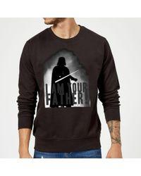 Star Wars - Darth Vader I Am Your Father Silhouette Sweatshirt - Lyst