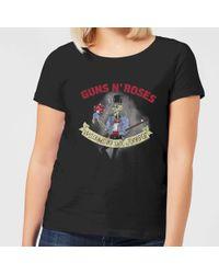 Guns N Roses - Jungle Skeleton T-shirt - Lyst