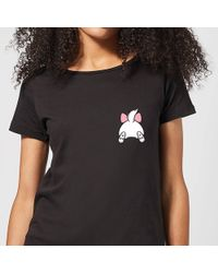 Disney Cotton Donald Duck Backside T shirt in Black Lyst