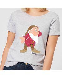 Disney - Snow White Grumpy Classic T-shirt - Lyst