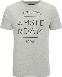 Threadbare Amsterdam T-shirt - Grey