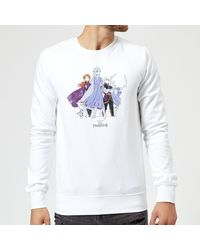 Disney Frozen 2 Group Shot Sweatshirt - White
