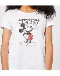 Disney - Mickey Mouse Presents T-shirt - Lyst