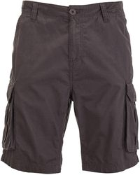 Brave Soul Riverwood Cargo Shorts - Grey