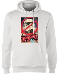 Star Wars Rebels Poster Hoodie - White