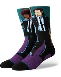 Stance Pulp Fiction Vincent And Jules Socks - Multicolor