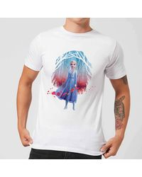 Disney Frozen 2 Find The Way Color T-shirt - White