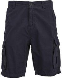 Brave Soul Riverwood Cargo Shorts - Blue
