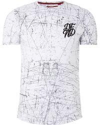 Defend London - Scratches T-shirt - Lyst