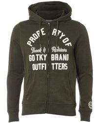 Tokyo Laundry - Snohaus Grindle Zip Through Hoody - Lyst