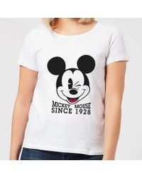 Disney - Mickey Mouse Since 1928 T-shirt - Lyst