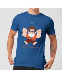 Disney - Wreck-it Ralph This Is My Happy Face T-shirt - Lyst