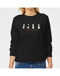 Disney Frozen 2 Shape Shifter Sweatshirt - Black