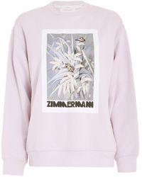 Zimmermann Botanica Sweatshirt - Multicolor