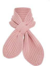 Zimmermann Ladybeetle Wrap Collar - Pink