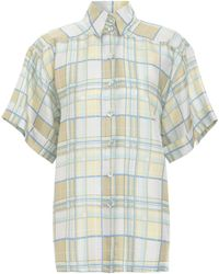 Zimmermann Super Eight Pajama Style Shirt - Multicolor