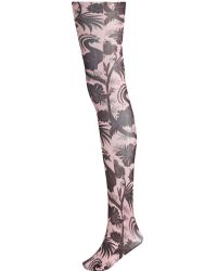 Zimmermann Printed Tights - Multicolor
