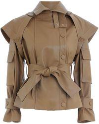 Zimmermann Tempest Leather Jacket - Multicolor