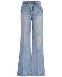 Zimmermann Pocket Flare - Blue