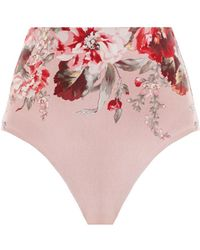 Zimmermann Cassia High Waisted Pant - Multicolor