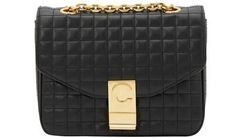 Céline | Women's Small C Bag In Quilted Calfskin - Black