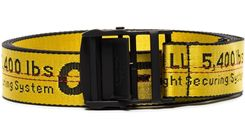 Off-White c/o Virgil Abloh | Women's Industrial Logo Belt - Yellow