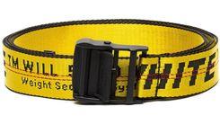 Off-White c/o Virgil Abloh | Women's Industrial Logo Belt - Yellow