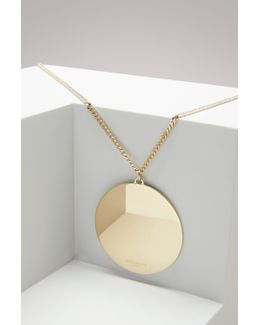 Geometric Round Necklace
