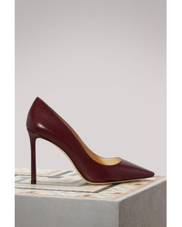Romy 100 Leather Pumps