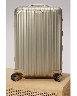 Topas Titanium Multiwheel Electronic Tag Luggage - 67l