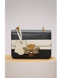 Queen Margaret Leather Crossbody Bag