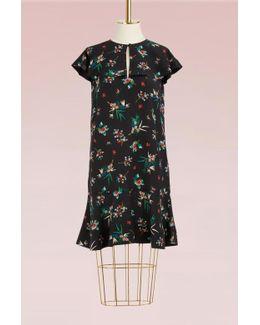 Wallpaper Print Dress