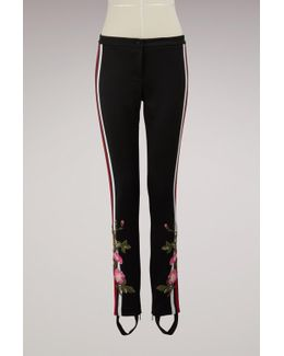 Jersey Stirrup Legging With Web