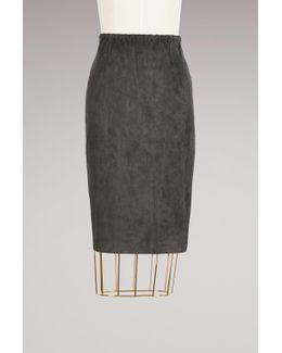 Gilda Velvet Skirt