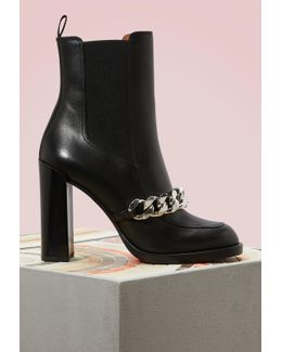 Chain Chelsea Boots