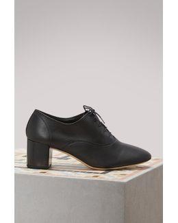 Fado Brogues With Heels