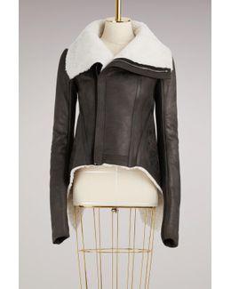 Shearling Biket Jacket