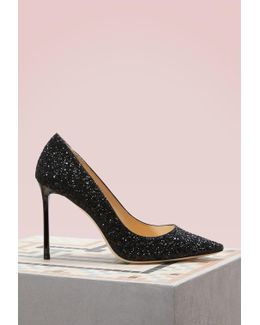 Romy 100 Sequin Pumps