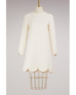 Studs Short Dress