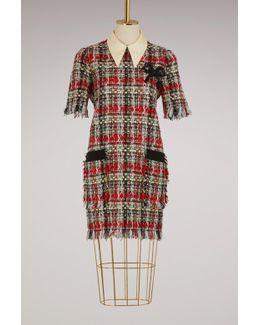 Tweed Multicolor Dress