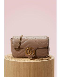 Gg Marmont Matelassé Super Mini Bag