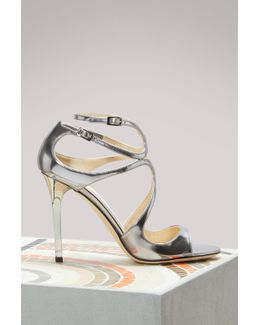 Lang 100 Mirror Leather Sandals