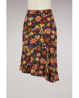 Silk Hernin Skirt