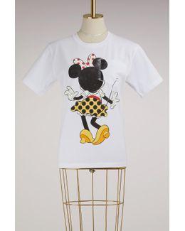 Minnie Motif T-shirt