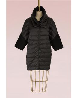 Wool And Duvet Down Jacket