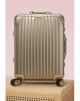 Topas Titanium Cabin Multiwheel Luggage - 32l