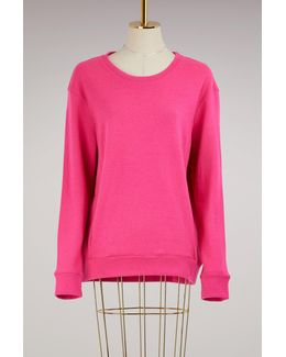 Wool And Cashmere Doublefaced Sweatshirt