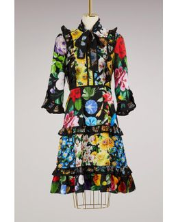 Patch Florage Insects Dress
