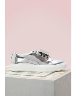 Patent Leather Adriana Sneakers